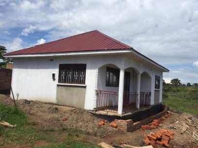 Bricks to build the veranda to prevent drainage issues
